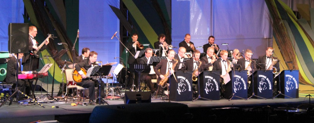 Swing Machine Jazz Orchestra Live Wedmore